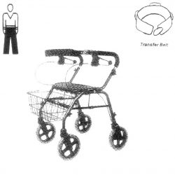 Mobility-1-Assist-with-4-Wheeled-Walker